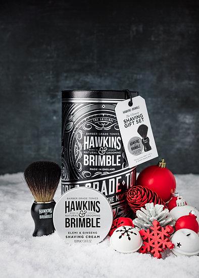 HAW-113 shaving gift set_silver