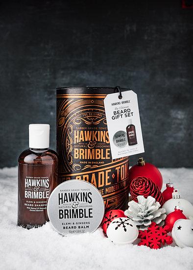 HAW-112 beard gift set_bronze