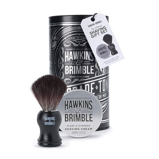 shaving gift set_silver