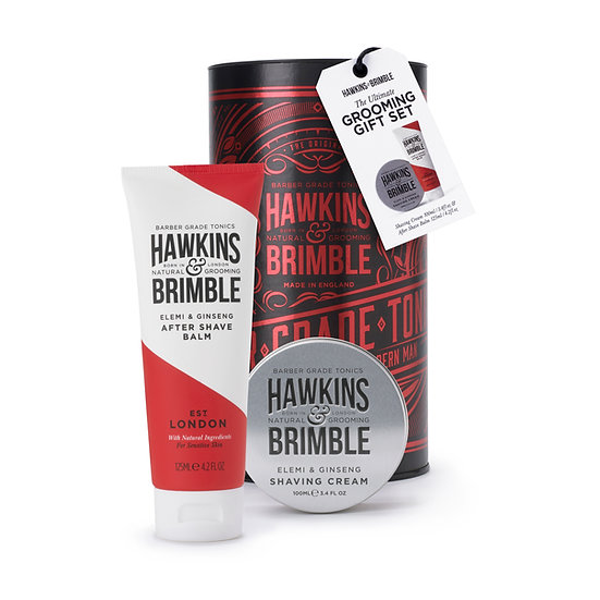 grooming gift set_red