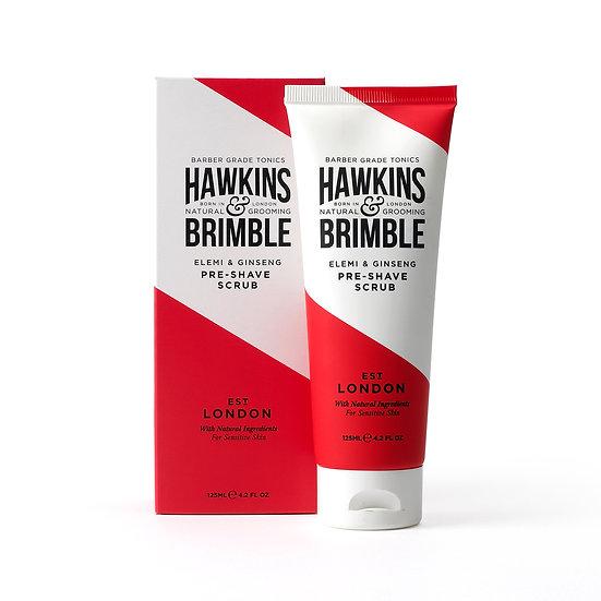 pre - shave scrub (125ml)