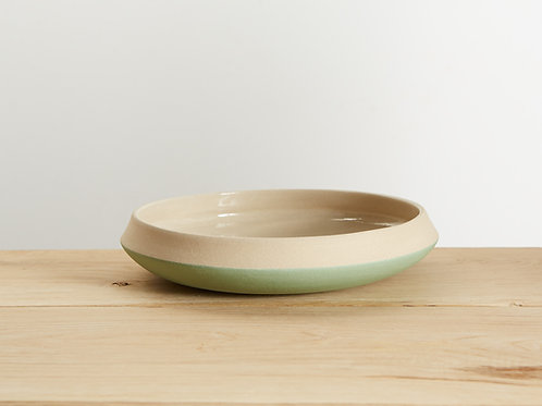 Rustic Celadon Dish