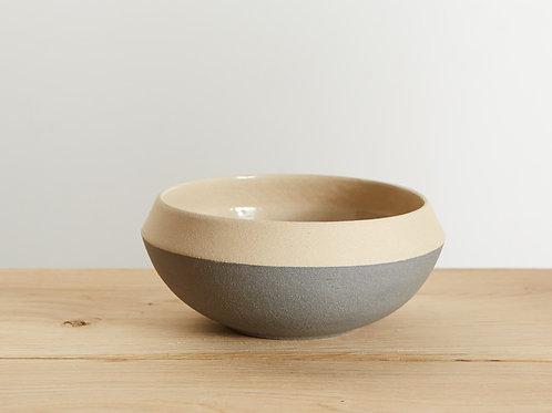 Rustic Dove Grey Bowl