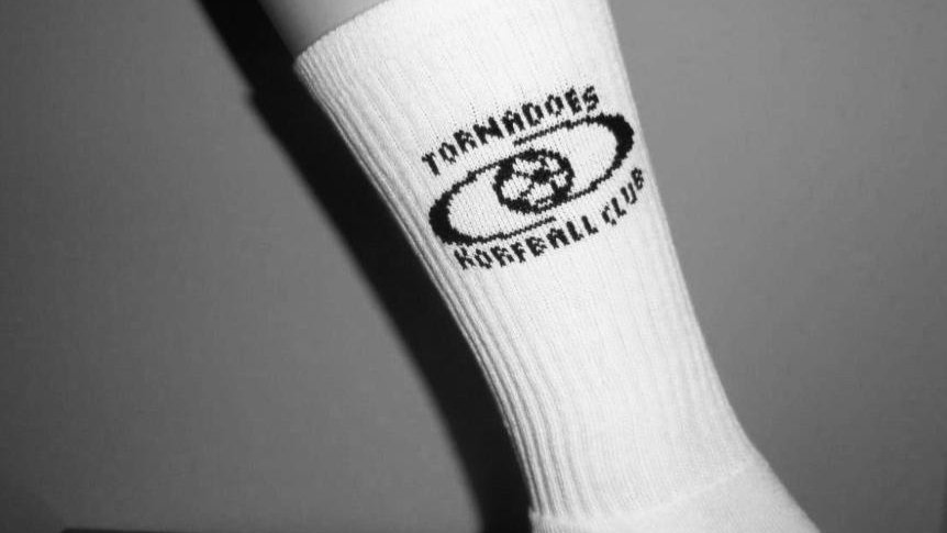 Tornadoes Branded Socks (White or Black)