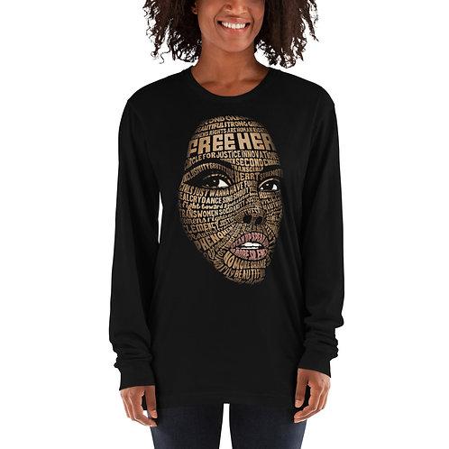 FreeHer Long sleeve t-shirt