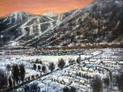 Mountain Valley III (Winter Blanket)
