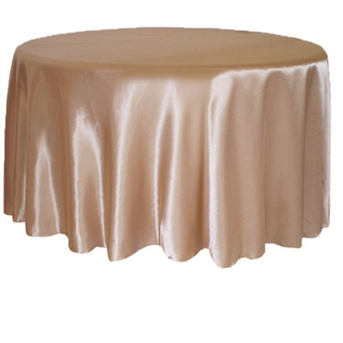 Satin Table Cloth - Round