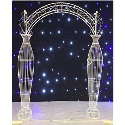 Wide Fancy Wedding Arch