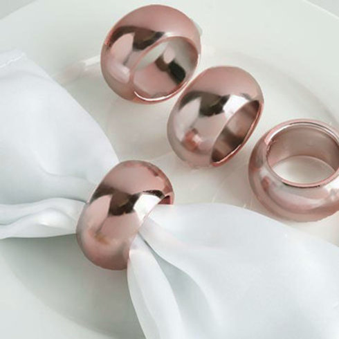 4pk Acrylic Napkin Rings
