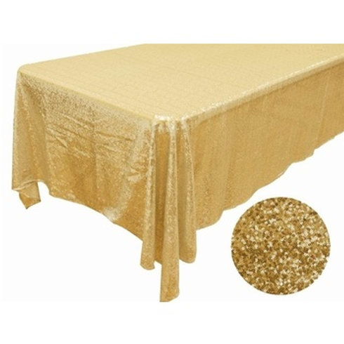 Sequin Table Cloth - Rectangle