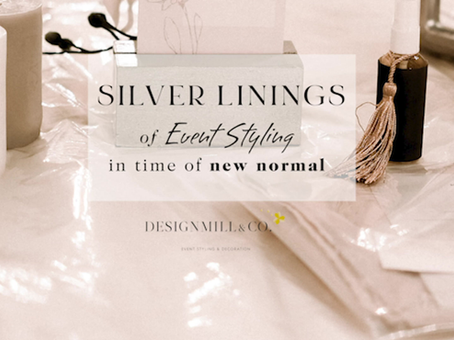 Silver linings of Event Styling in the time of New Normal