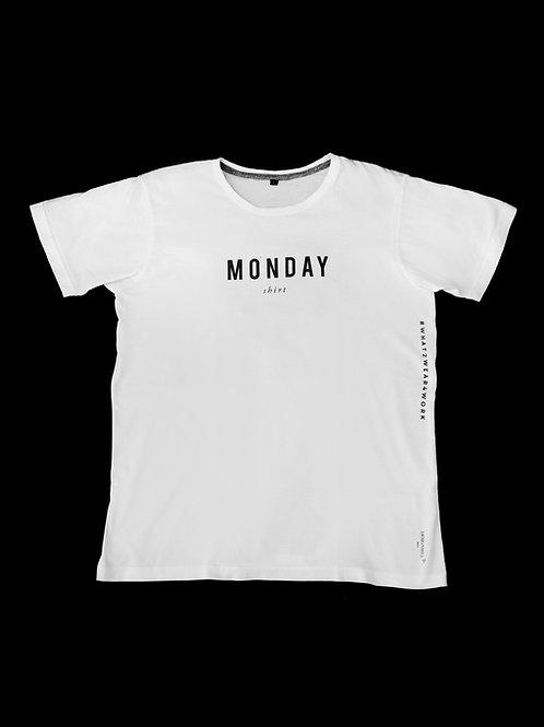 Mon-Fri T shirt ( sold per set / 5 pcs )