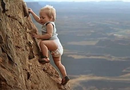 מצעדי תינוק למימוש מטרות גדולות