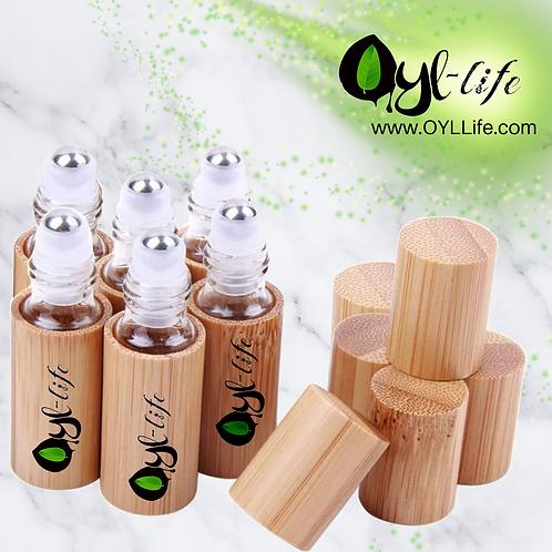 Natural Bamboo Roller Bottle 5ML