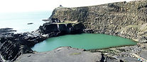 The Blue Lagoon Abereiddy