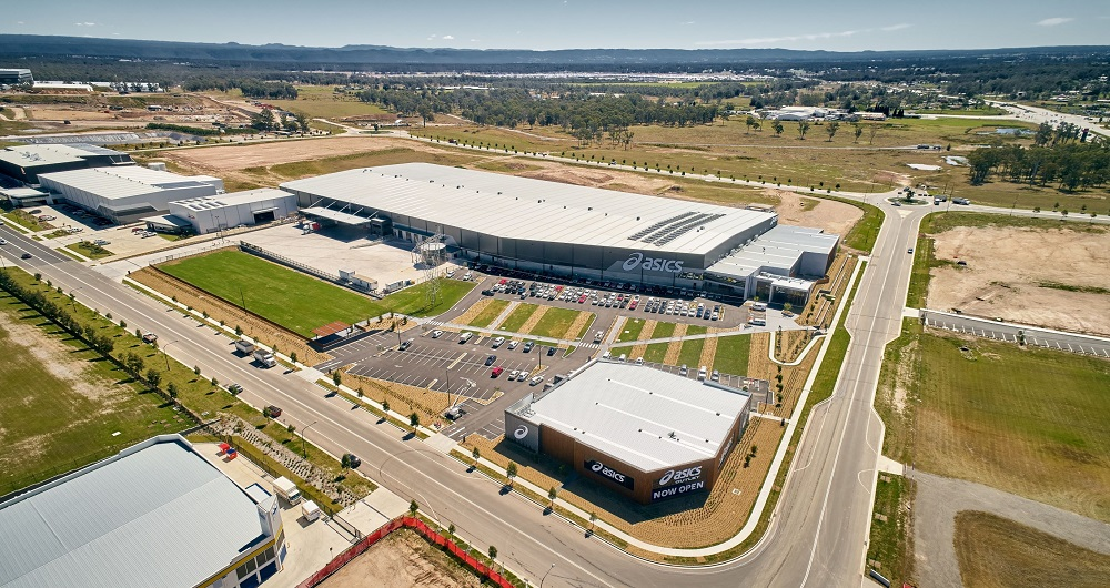 ASICS Head Office, Distribution Centre & Retail Outlet by Sydney Business Park
