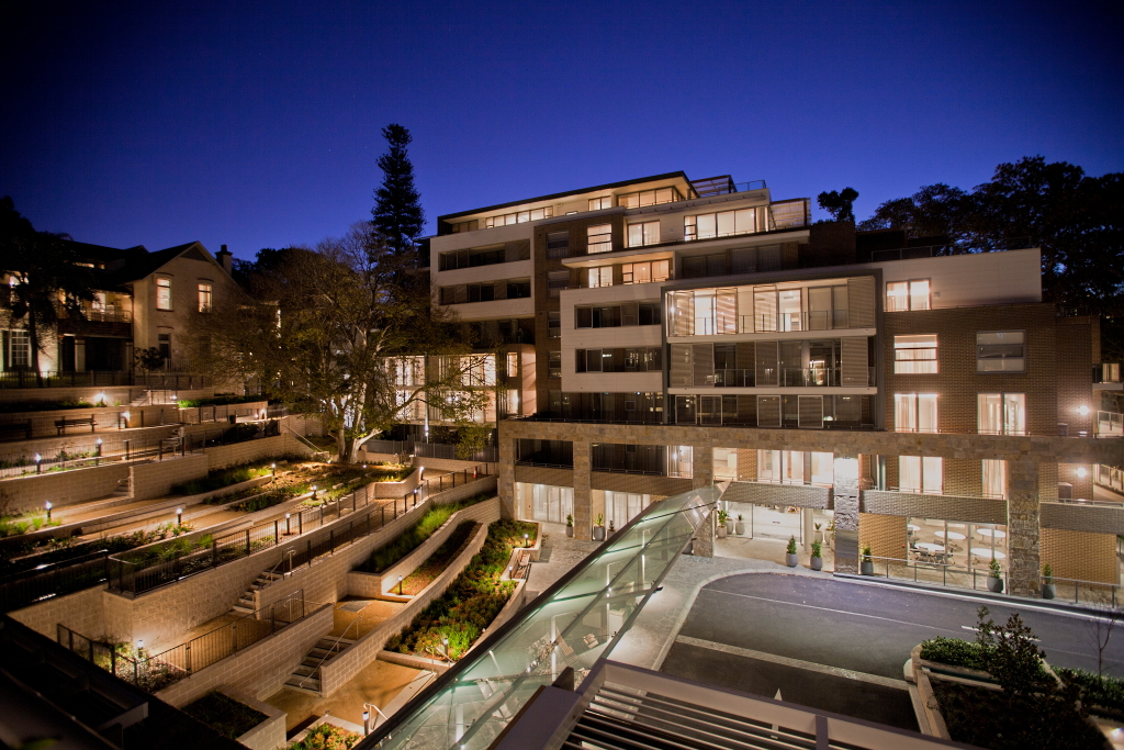 The Terraces - Paddington by Presbyterian Aged Care & Cottee Parker Architects