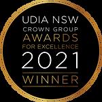 Winner Seal - UDIA NSW Crown Group Award