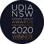 UDIA NSW Crown Group Awards 2020 Winner