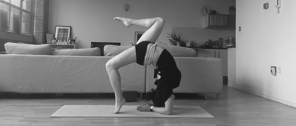 Forearm stand by Aoife Blake Yoga