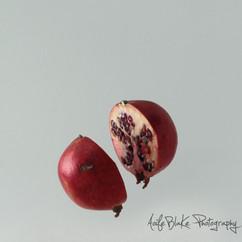 Floating Food, Pomegranate