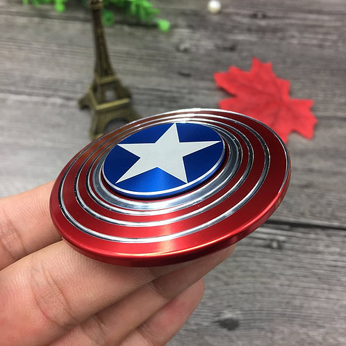The Avengers Captain America Shield Fidget Spinner