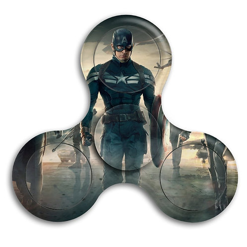 Captain America Tri-fidget Hand Spinner