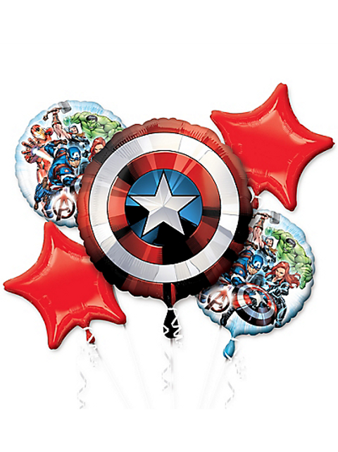 Avengers Balloon Bouquet 5pc