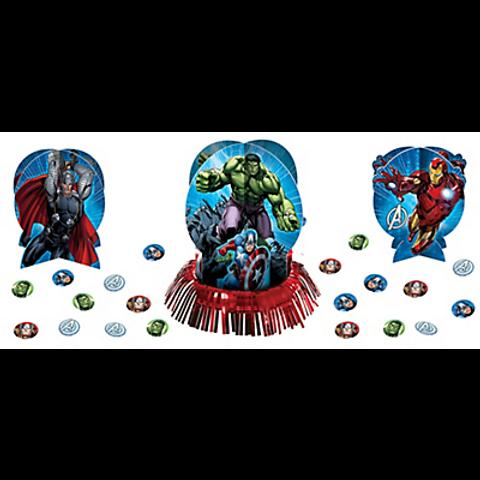 Avengers Table Decorating Kit 3pc Plus Confetti