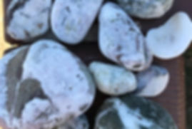 belle rocce, beautiful rocks collected from Rodeo Beach, San Francisco