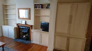 Tulipwood cabinets