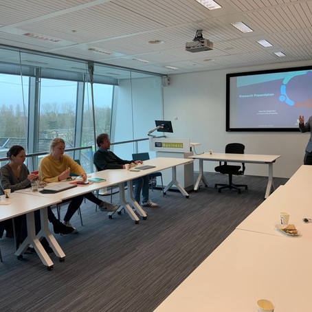 Research Presentation at the University of Amsterdam (3 Feb 2020)