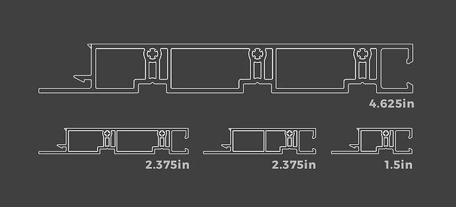 Window jamb sizes