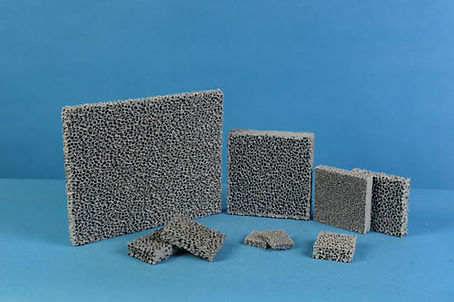 CFS Silicon Carbide Ceramic Foam Filter