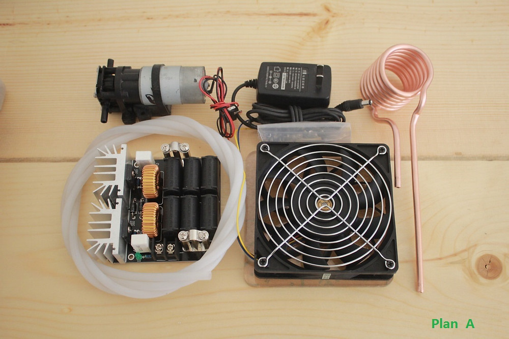 DIY homemade high frequency induction unit