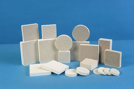 Industrial honeycomb ceramic
