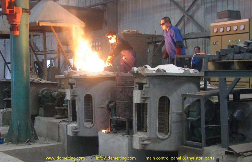 induction furnace repair, induction furnace fault analysis