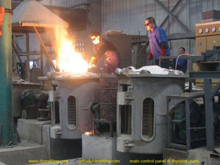 Analysis of common faults in intermediate frequency furnace