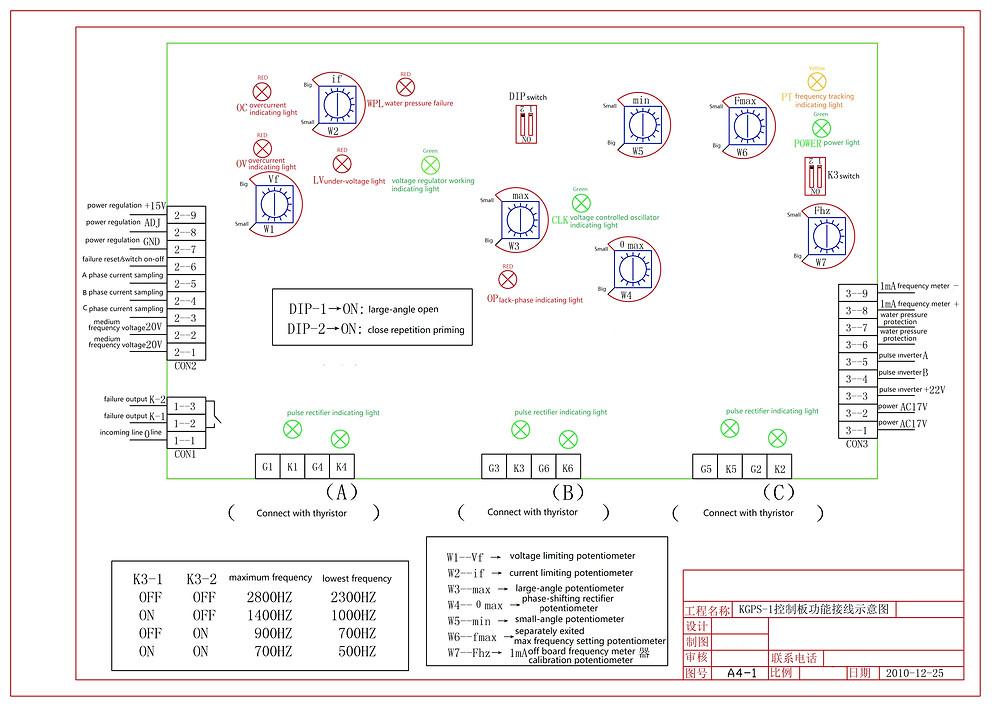 KGPS-1 connection diagram