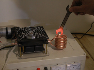 DIY high frequency induction heating machine