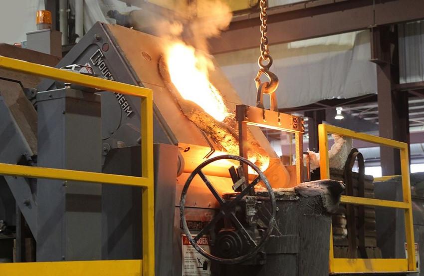 induction furnace repair