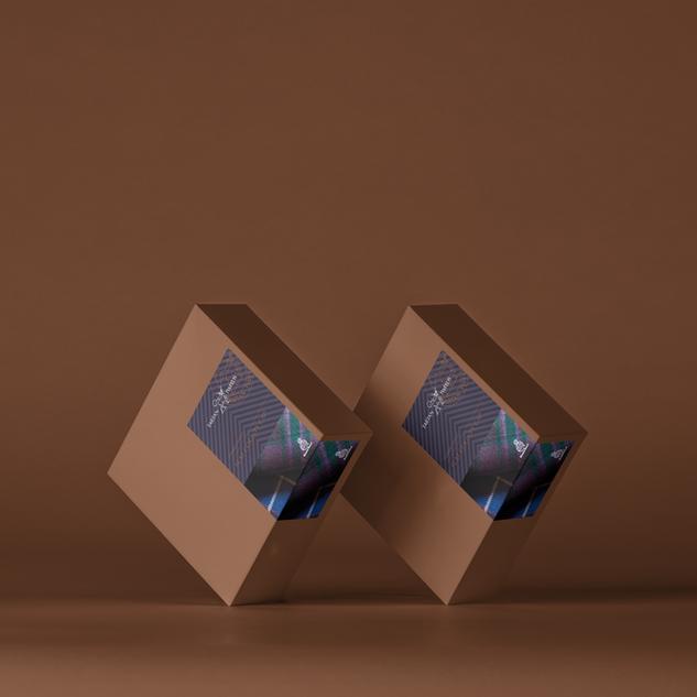 tartan Tweeeds packagin design