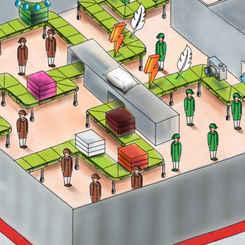 Moy Park Illustration