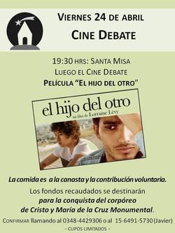 Cine debate Abril 2015