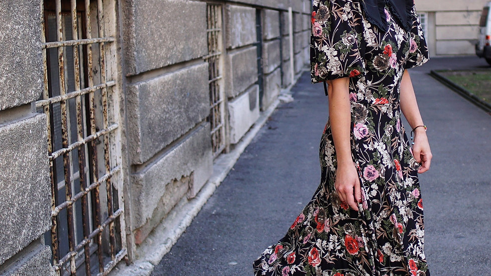 """""""Baby"""" floral dress"""