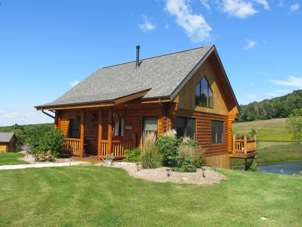 Vacation Rental Cabin Dubuque Iowa Lorelei Cabins