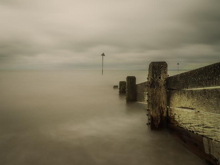 Murky Southend Sea