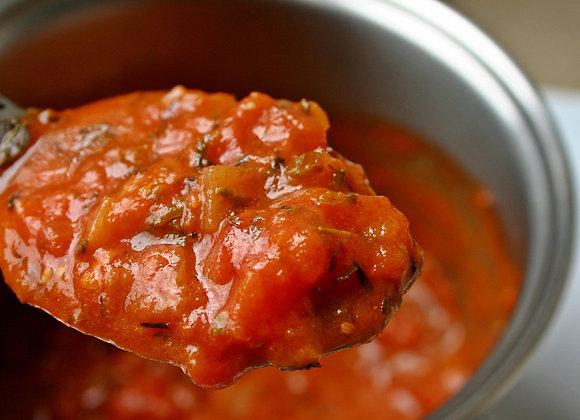 Red Wine Rustic Tomato Sauce