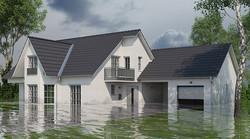 poplavljena hiša