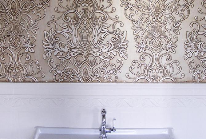 Линкруст - роскошная отделка стен.